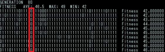 遺伝的アルゴリズム sample 001